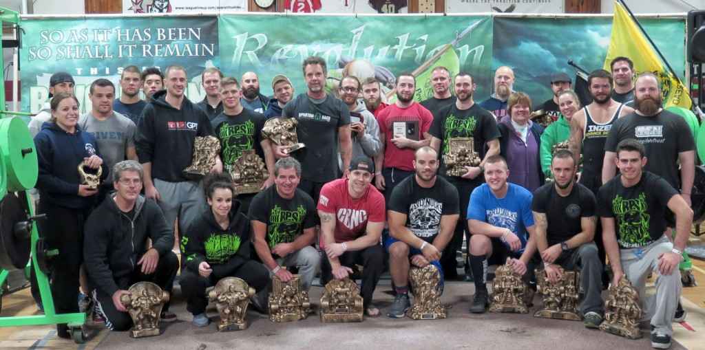 19th Annual Power Challenge Saturday PM Lifters